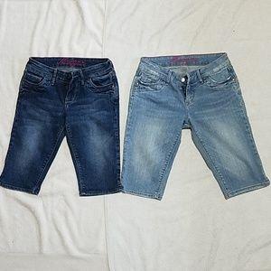 Delia*s Morgan Jean Shorts Bundle Del0Shorts01